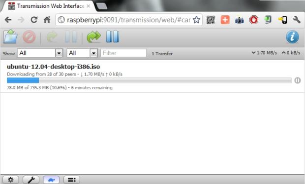 BitTorrent сервер
