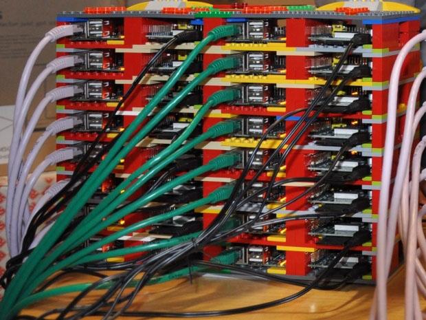 Кластер из Raspberry Pi