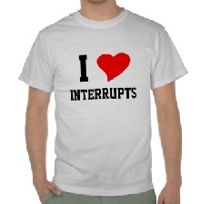 I love Interrupts
