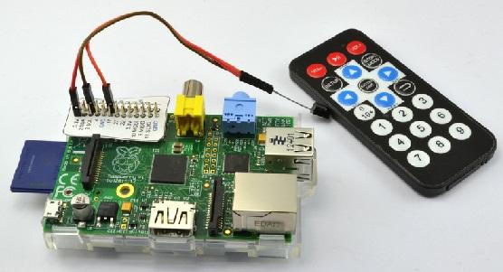 Pi с помощью ИК-пульта