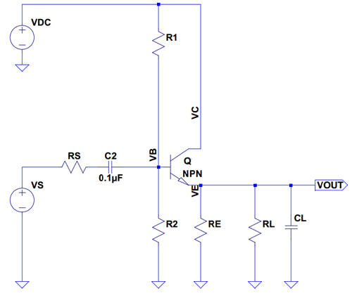 Схема с общим коллектором