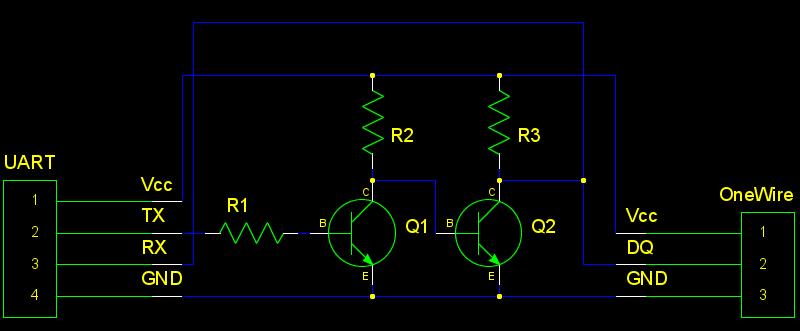 схема интерфейса 1-Wire –