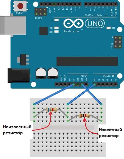Омметр на Arduino своими руками
