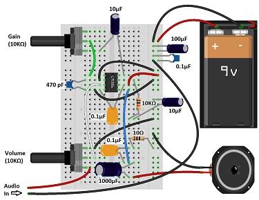 Качественный усилитель звука на LM386