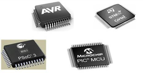 Микроконтроллеры 8051, PIC, AVR и ARM: отличия и особенности