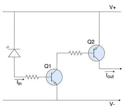 Схема усилителя тока