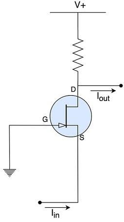 схема токового буфера