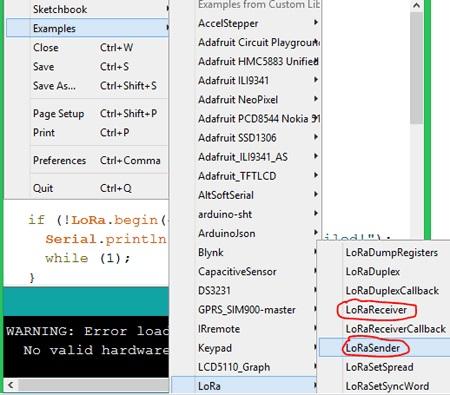 Arduino и LoRa: подключаем модуль SX1278 (Ra-02) к Arduino