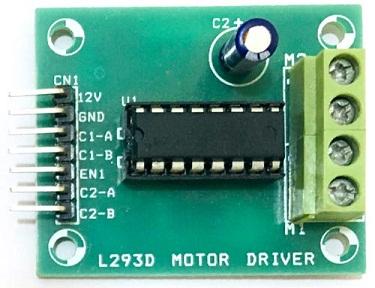 Драйвер двигателя L293D