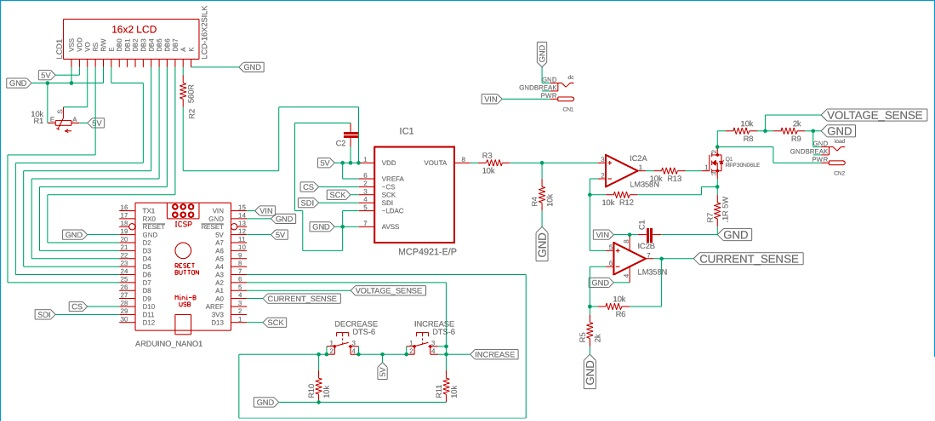 Электронная нагрузка на Arduino своими руками