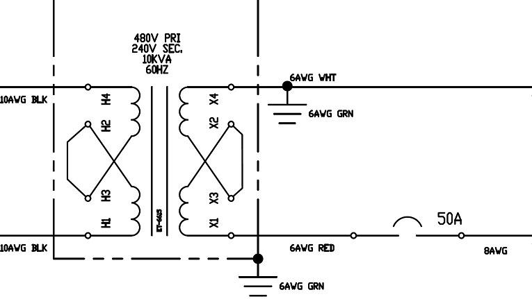 Как правильно осуществлять заземление разделительных трансформаторов